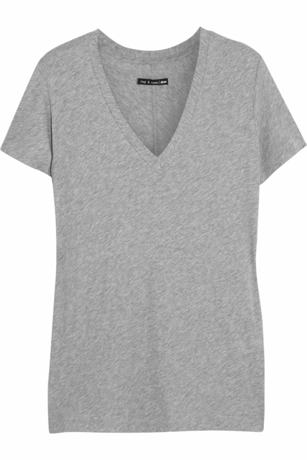 T-skjorte fra Rag & Bone via net-a-porter, ca. kr 825.  Foto: Net-a-porter.com