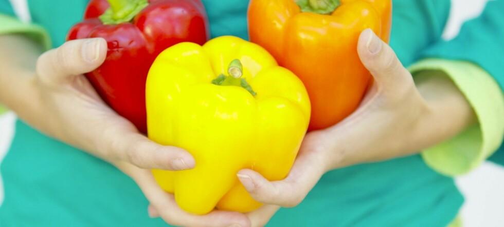 Paprika kan holde deg frisk