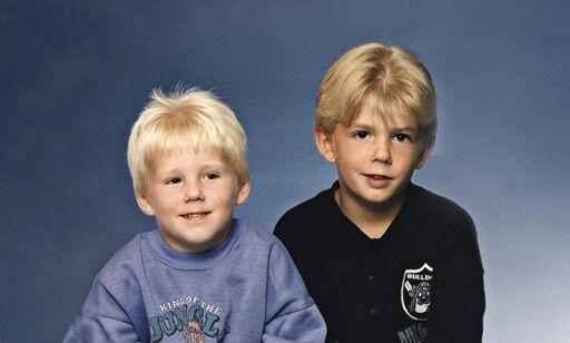 image: Robin og Christian ble utpekt som skyldige i drapet som rystet Norden. De har levd i skjul siden, helt til nå