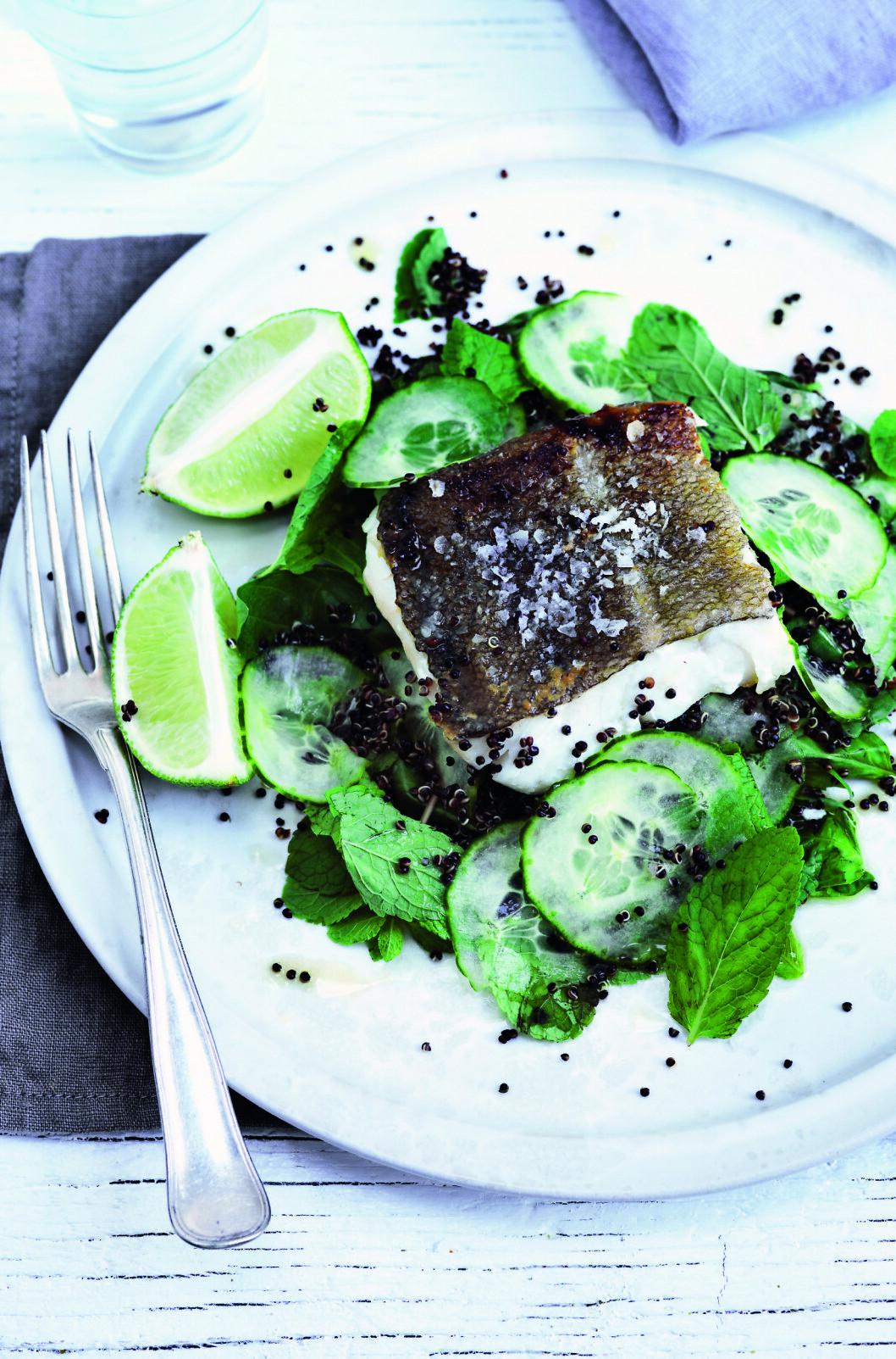 FRØET QUINOA: Quinoa er en forholdsvis ny matvare her i Norge, men det ekstremt næringsrike frøet har vært dyrket av inkaene i Andesfjellene i ca. 5000 år. Foto: All Over Press