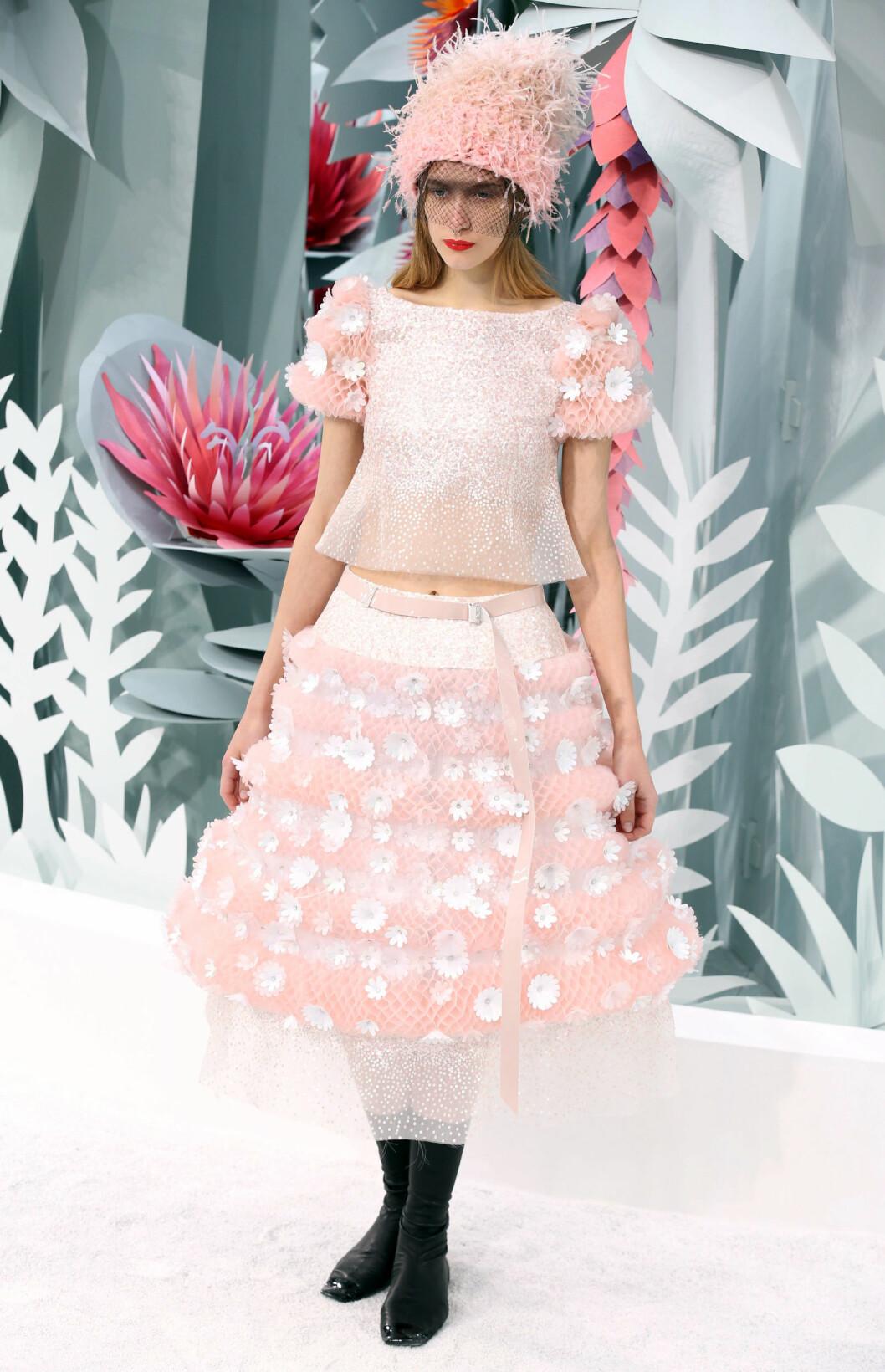 Chanel vår- og sommer 2015 Foto: REX/All Over Press