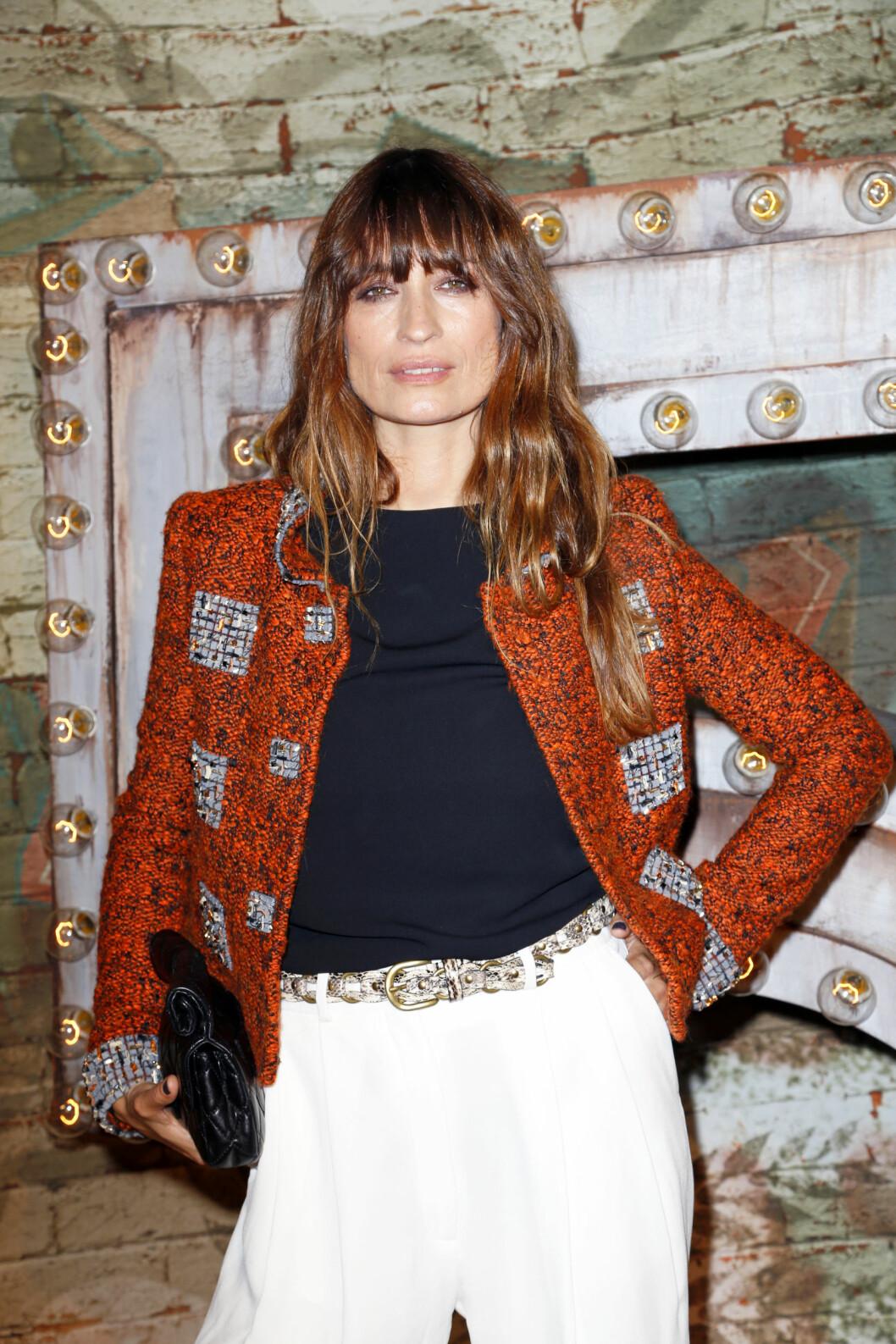 Caroline under en middag hos Chanel. Foto: Richie Buxo / Splash News/ All Over Press