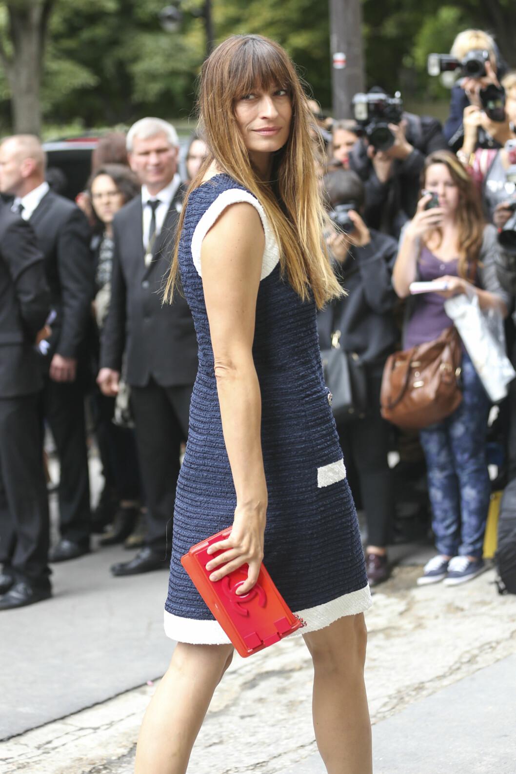 Caroline de Maigret under moteuken i Paris i 2014.     Foto: action press/All Over Press