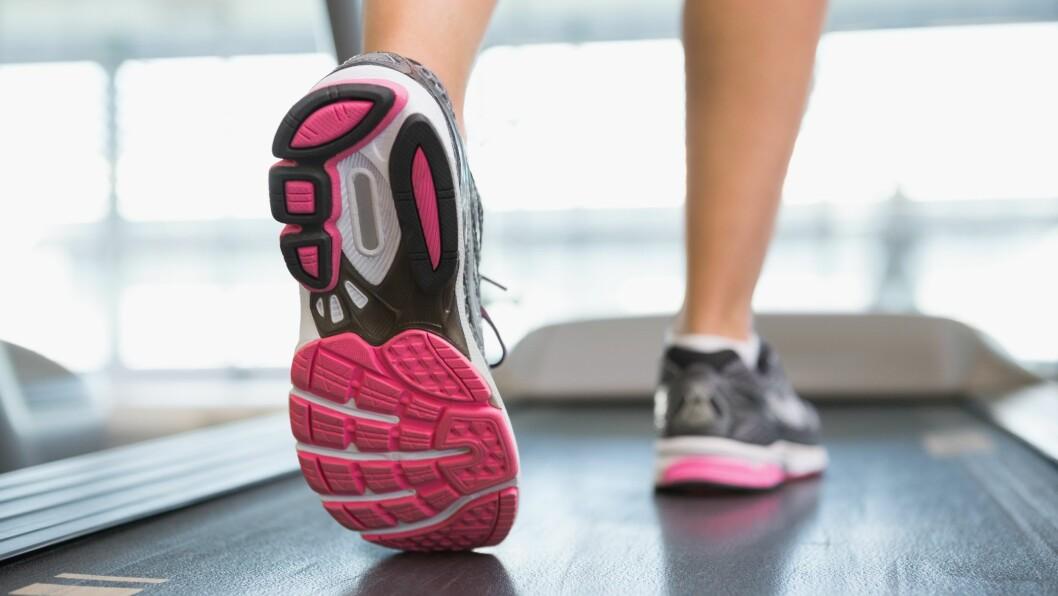 <strong>TRENINGSSKADER:</strong> Akillessenen bak på hælen er blant de vanligste kroppsdelene å skade i forbindelse med trening, ifølge fysioterapeut Kjersti Larsen.  Foto: All Over Press