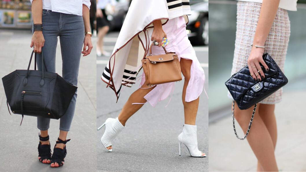 TIDLIGERE VINNERE: Céline, Hermes og Chanel har alle laget vesker som står høyt på ønskelisten til kvinner over hele verden. Foto: All Over