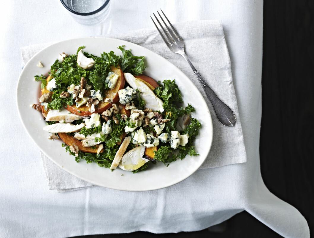 <strong>SUNN OG GOD:</strong> Grønnkål er en gammel grønnsak som er full av sunne saker. Foto: All Over Press