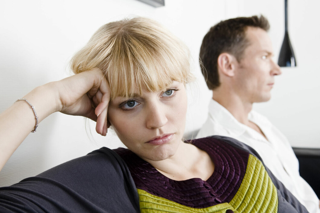PRAT OM PROBLEMENE: – Om dere ikke søker profesjonell hjelp, må dere i det minste prate om hvordan dere har begynt å kommunisere. Her må man oppriktig ha et ønske om å bli enige, legge seg flat og begynne å lytte. Hvis ikke, er det håpløst, sier Tryti.