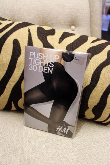 Push-up-tights (kr 99, H&M). Foto: Cecilie Leganger