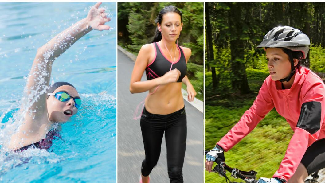 KONDISJON: Vi kvinner er glad i å trene kondisjon, men hvilken kondisjonstrening er egentlig den beste dersom man ønsker å gå ned i vekt? Foto: Fotolia