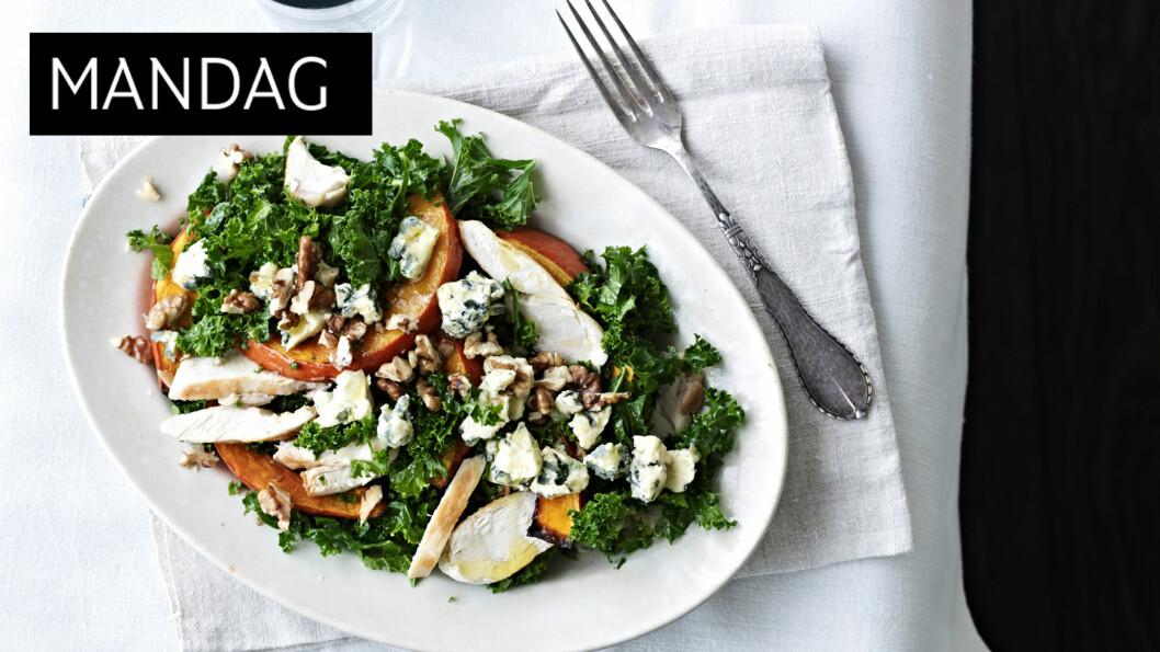 SUNN OG GOD: Grønnkål er en gammel grønnsak som er full av sunne saker. Og så er den veldig god! Foto: All Over Press