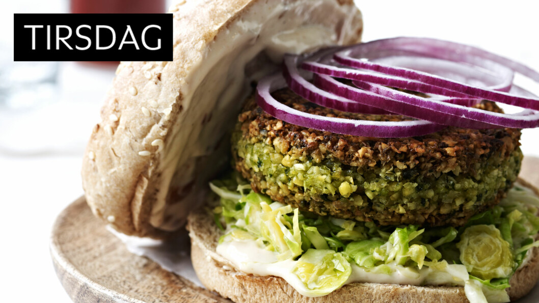 ALLE NÆRINGSSTOFFER: Ser det ikke lekkert ut? Dette er ukens vegetarmiddag, men den inneholder alle næringsstoffer en middag skal ha. Foto: All Over Press
