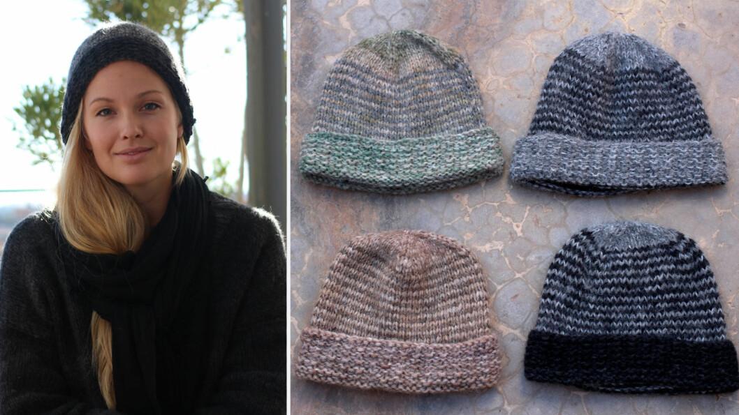 STRIKK SELV: STYLEmag-blogger og designer Maria Skappel delen sin strikkeoppskrift! Foto: Mariaskappel.no