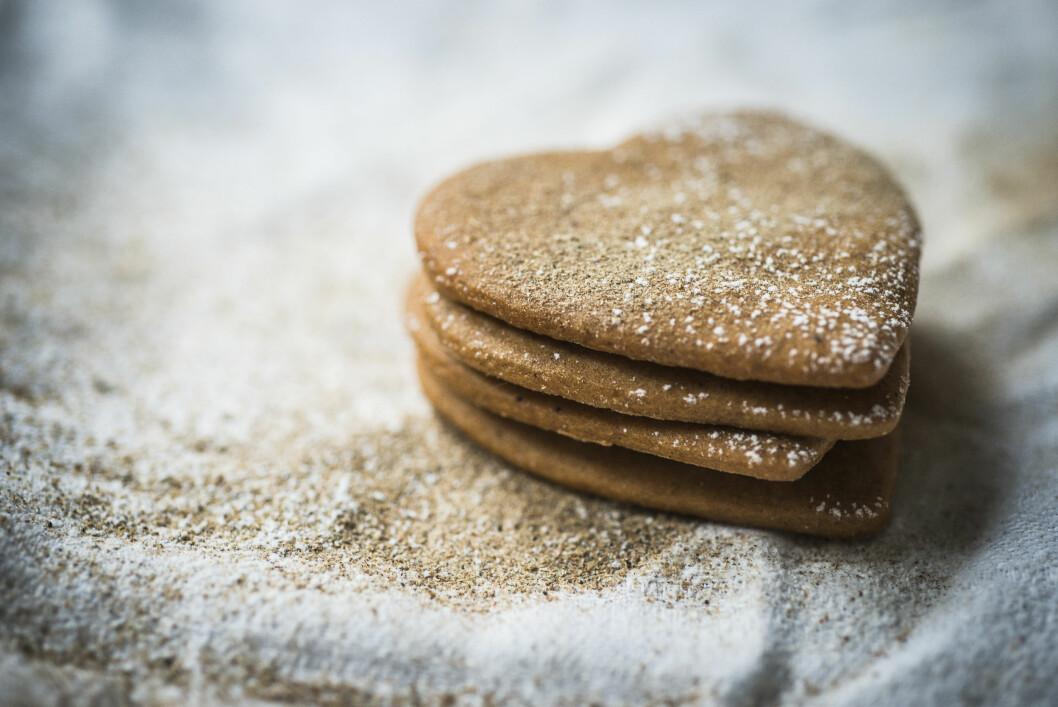 ALLERGIVENNLIG JULEBAKST: Har dere en eller flere i familien med allergi? Da bør dere bake julekaker som er allergivennlige slik at alle kan smake! Foto: Katrine Lunke / Melange