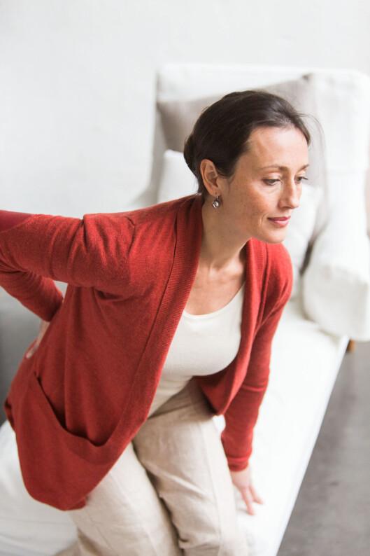 KVINNEPROBLEM: Halebeinsproblemer skjer oftere med kvinner enn menn, blant annet fordi halebeinet kan løsne under fødsel. Foto: REX/Burger/Phanie/All Over Press