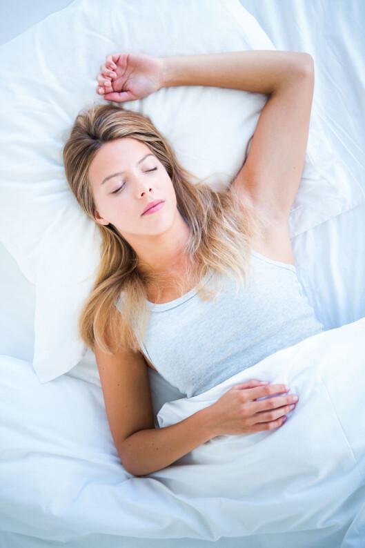 HVILE: En god natts søvn og næringsrik mat er viktig for at musklene skal reparere seg selv og bli sterke. Foto: REX/VOISIN/PHANIE/All Over Press