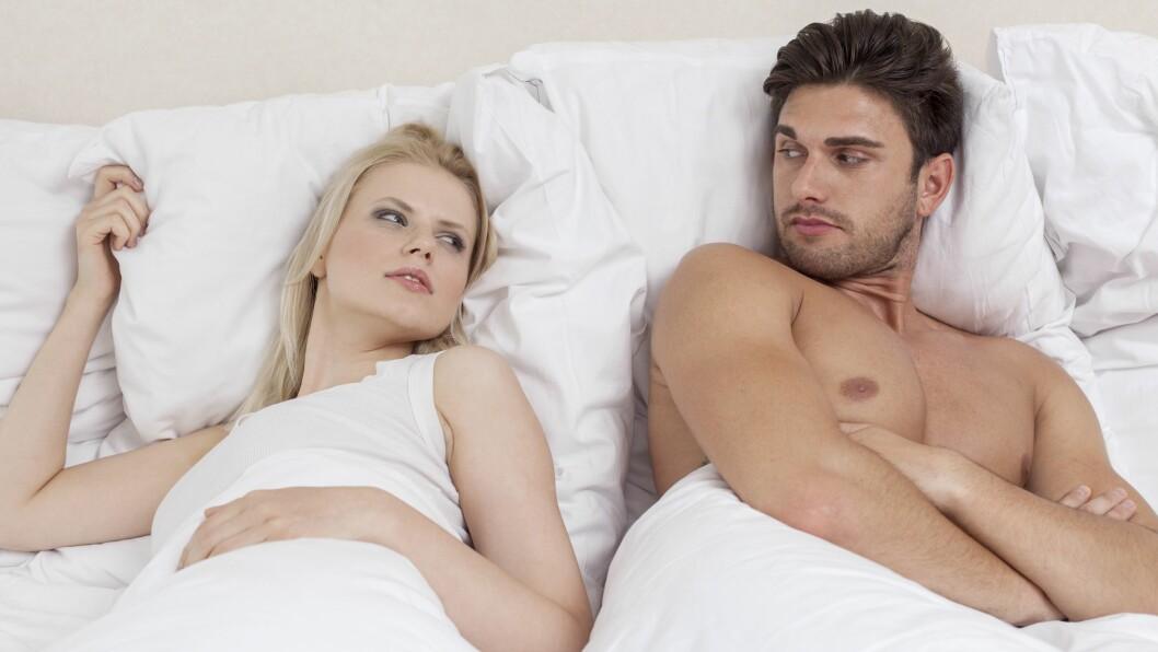 SEX I KUN NOEN MINUTTER: Hvor lenge er det egentlig vanlig å ha sex?  Foto: REX/Mood Board/All Over Press