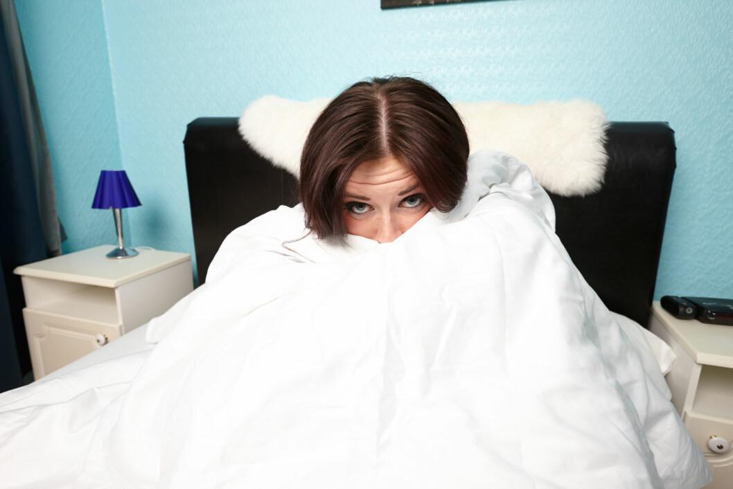 TEMPERATUR: Det er lettere å sove godt dersom soverommet holder en behagelig temperatur. Det bør ikke være for kaldt, og heller ikke for varmt. Foto: Radharc Images / Alamy/All Over Press