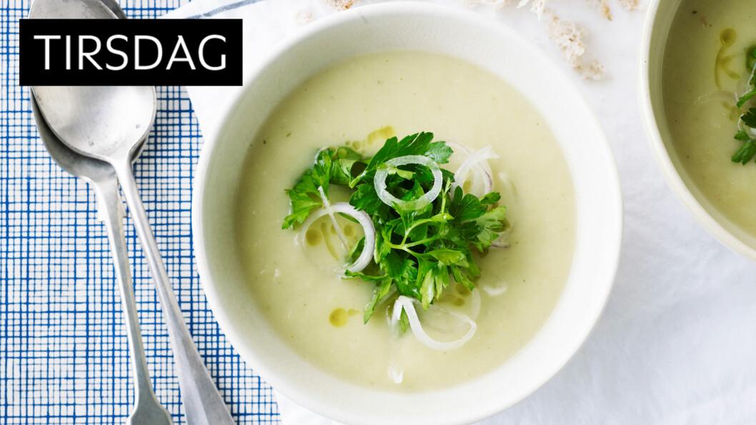 LAG GJERNE EKSTRA: Så godt og så enkelt. En suppe varmer og metter, og er lett å lage til mange. Lag gjerne ekstra mye når du først er i gang, og frys i porsjonsposer. Foto: All Over Press