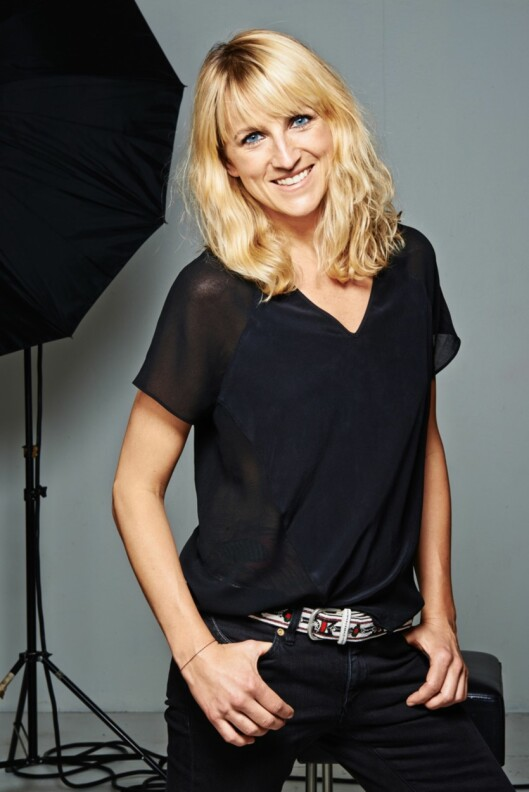 EKSPERTEN: Linda Wickmann er ansvarlig makeup artist for Max Factor Norge. Foto: Isabel Watson