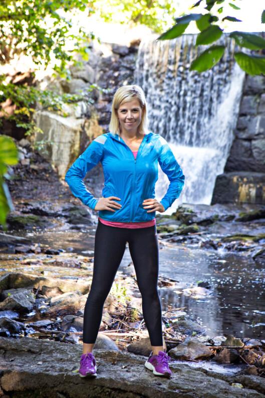 SKULDRE: Anne Marte Sneve anbefaler deg å trene skuldre regelmessig, både for å unngå skader og dårlig holdning.