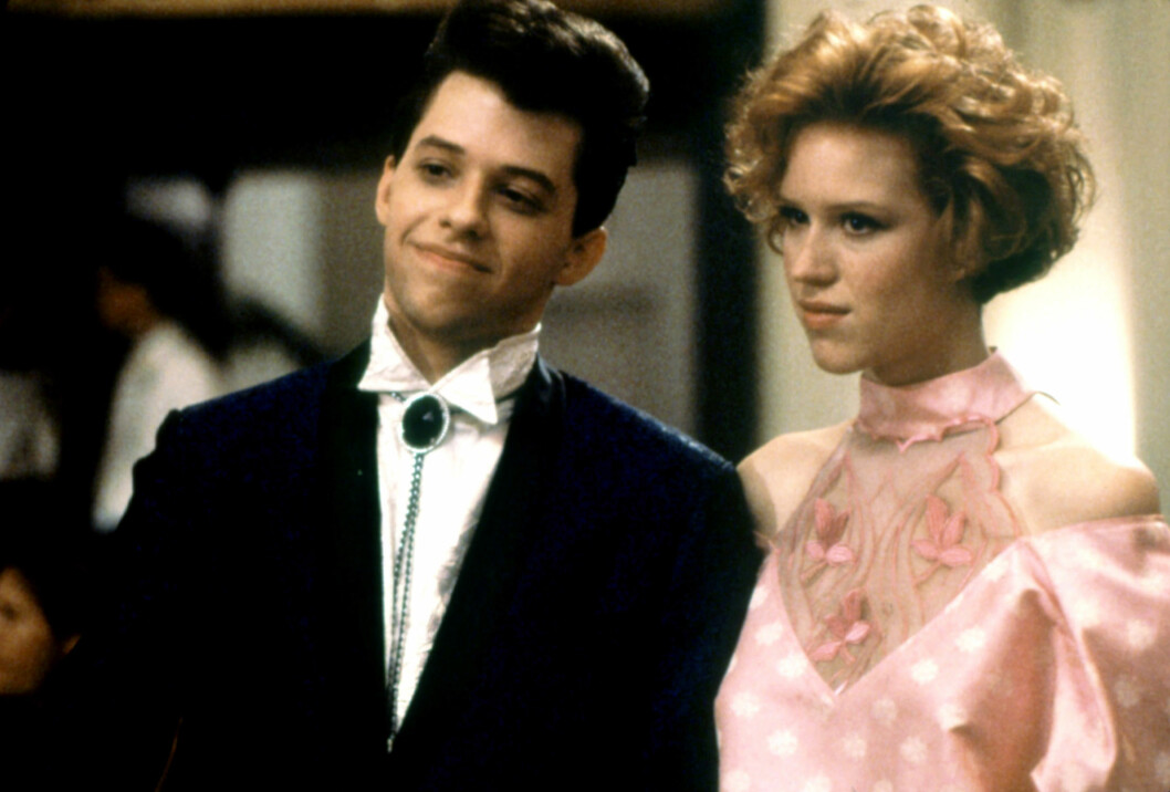 PRETTY IN PINK: Jon Cryer og Molly Ringwald. Foto: ©Paramount/Courtesy Everett Col