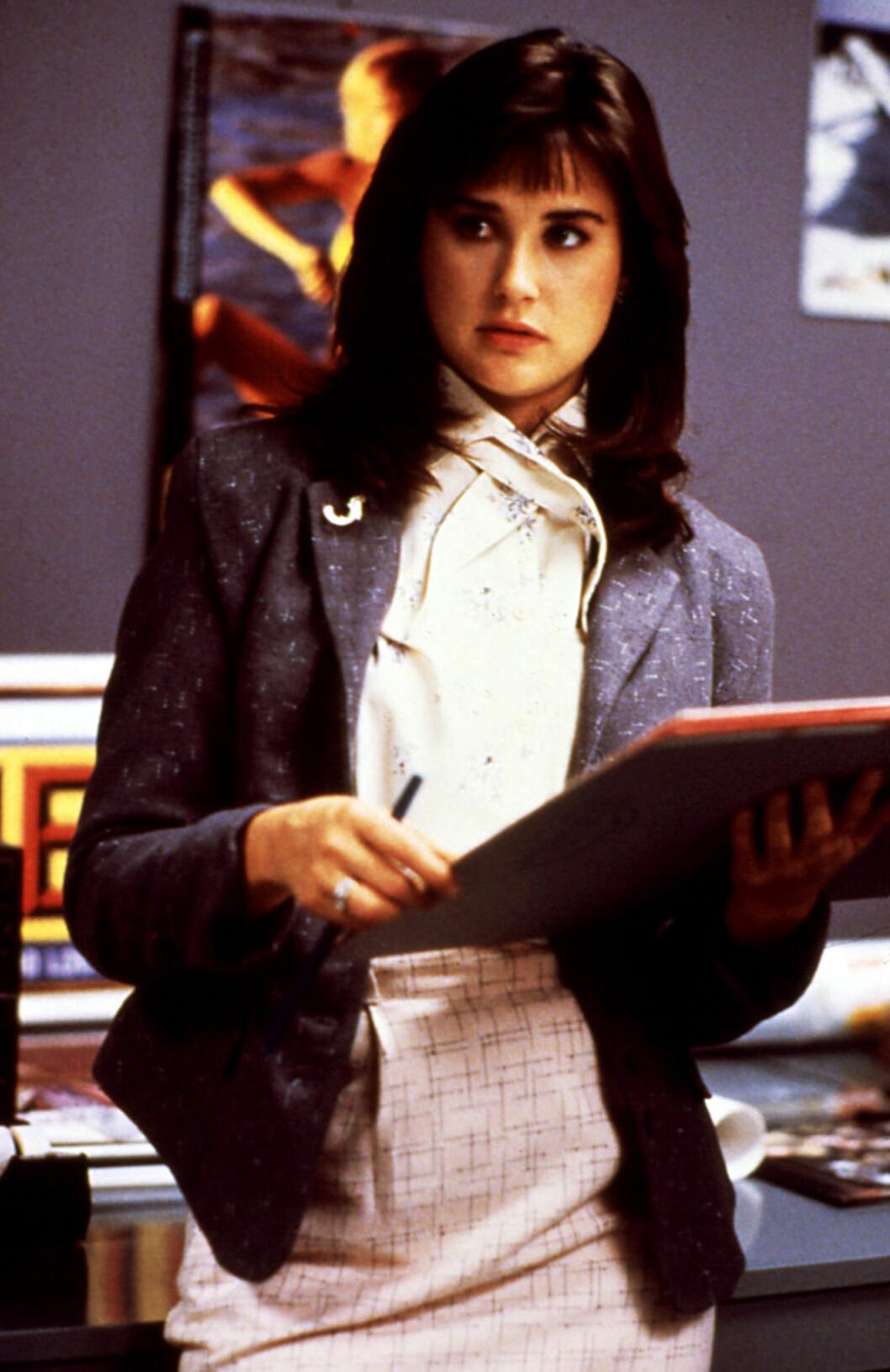 80-TALLETS VERSJON AV PREPPY: Demi Moore i filmen About Last Night fra 1986. Foto: ©Columbia Tristar/Courtesy Ever