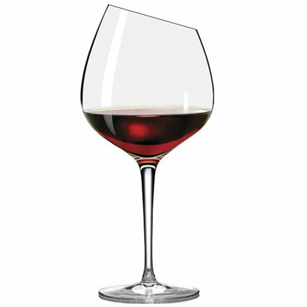 <strong>EKSTRA FIN:</strong> «Burgundy»glass far Eva Trio er som navnet tilsier beregnet på de ekstra fyldige og fine vinene (kroner 225, ilumsbolighus.no). Foto: Produsentene