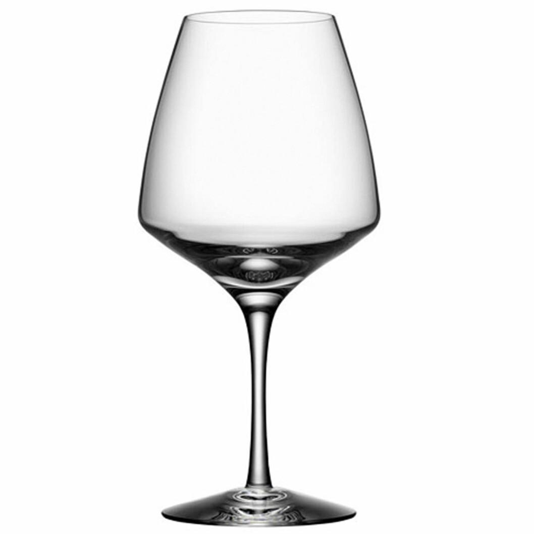 <strong>PULSE:</strong> Elegante «Pulse» fra Orrefors gjør jobben (kroner 430 for fire glass, royaldesign.no). Foto: Produsentene