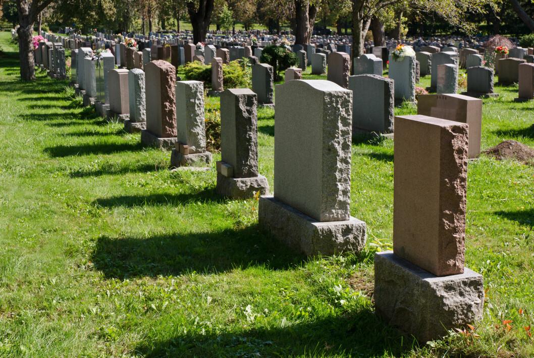 <strong>BEGRAVELSE:</strong> I 2013 døde 41 000 mennesker i Norge, og av disse valgte 62 prosent å begraves, mens 38 prosent valgte å kremeres. Foto: mbruxelle - Fotolia