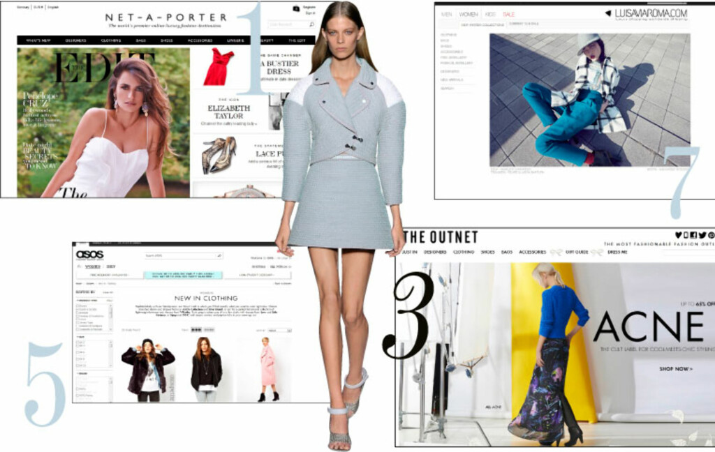 96531094 Nettshopping: De 10 beste shopping-nettstedene - KK