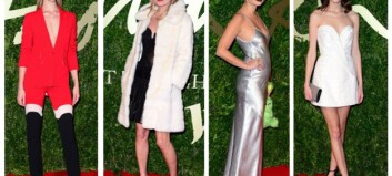 Se stjernenes sexy antrekk fra British Fashion Awards 2013