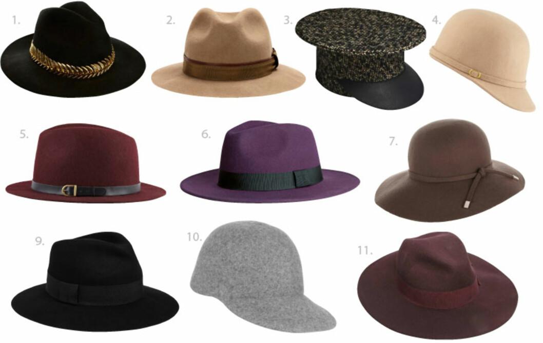 Her er høstens heteste hatter