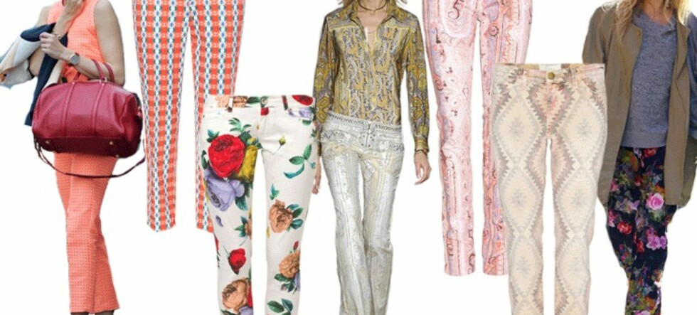 Nå skal buksene være mønstrete!