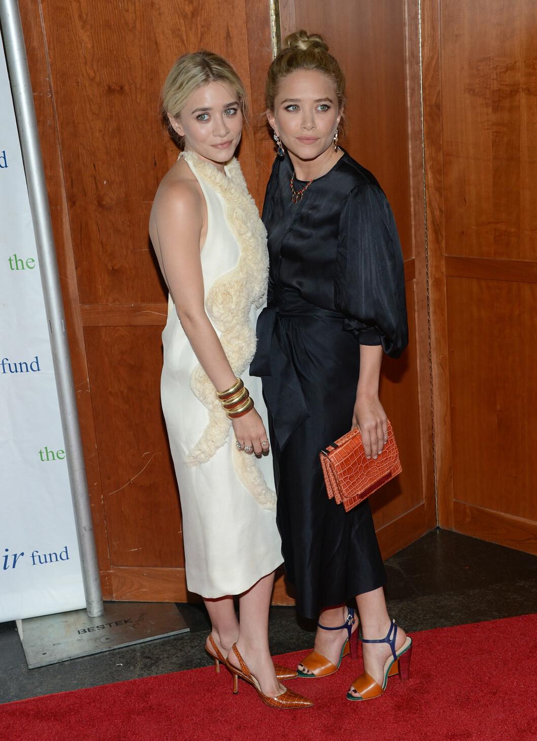 Mary-Kate og Ashley Olsen designer for Bik Bok