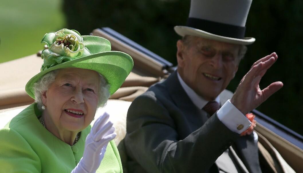 UTSKREVET: Onsdag ble hertugen av Edinburg innlagt på sykehus. Foto: NTB Scanpix
