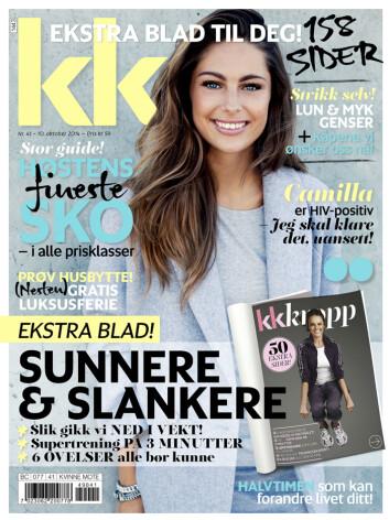 NYTT NUMMER: KK 41 er i salg fra fredag 10. oktober. Foto: Kamilla Bryndum