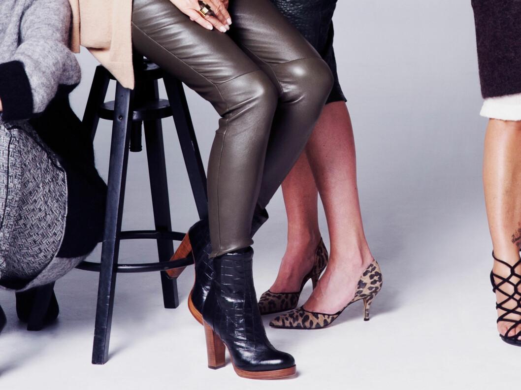 <strong>RIKTIG LENGDE TIL ANKELBOOTS:</strong> Vi du trikse bena litt lengre, er en bukse som går til ankelen helt perfekt.Henger den over skoene, kan bena fort se litt kortere ut, selv om de ikke er det. Foto: Yvonne Wilhelmsen