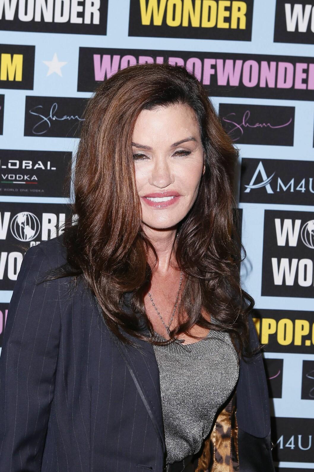 Janice Dickinson i 2014. Den tidligere supermodellen og tv-dommeren har innrømmet at hun elsker plastisk kirurgi. Foto: imago/PanoramiC/ All Over Press