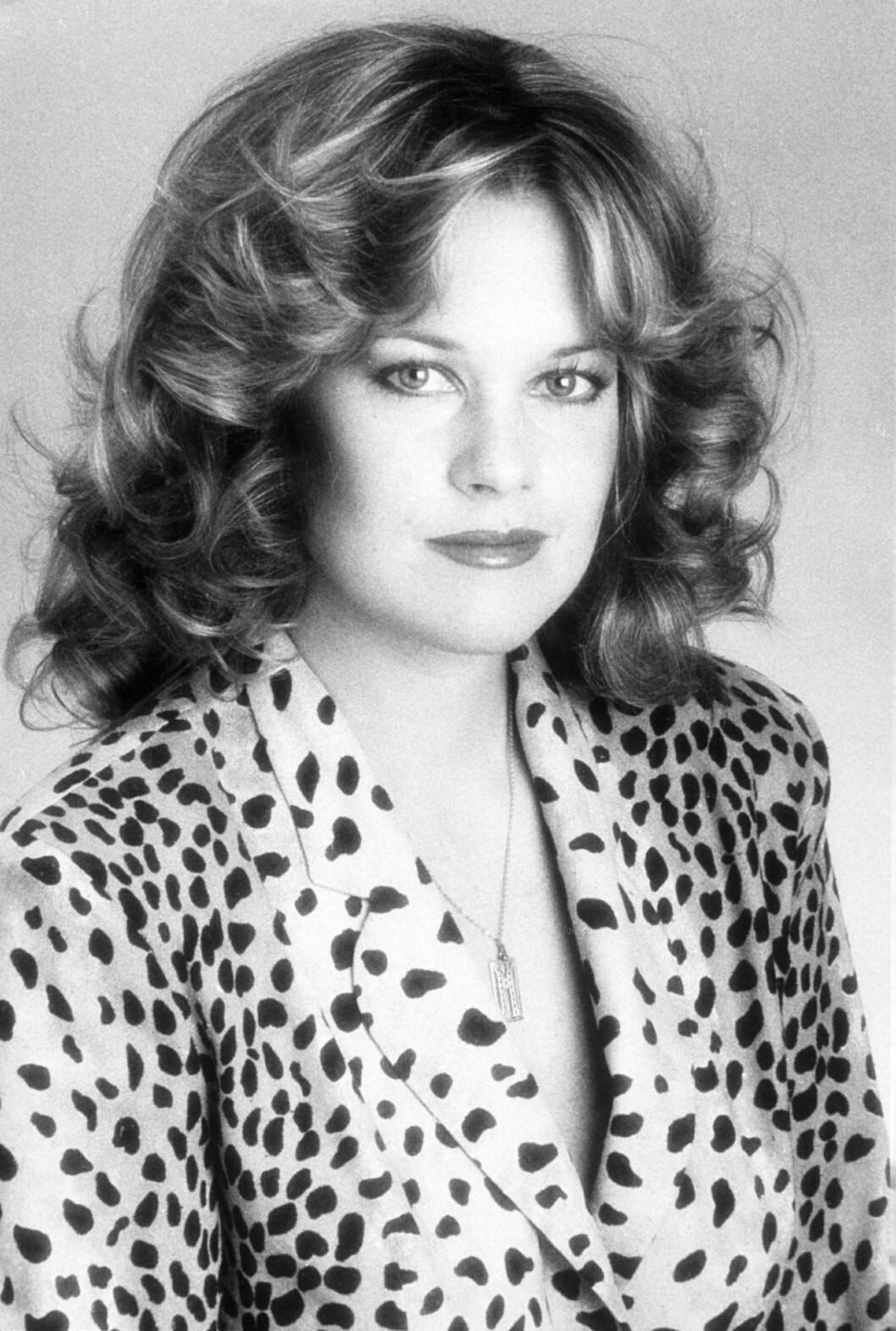 Melanie Griffith på tidlig 1990-tallet.  Foto: REX/ARALDO DI CROLLALANZA/All Over Press