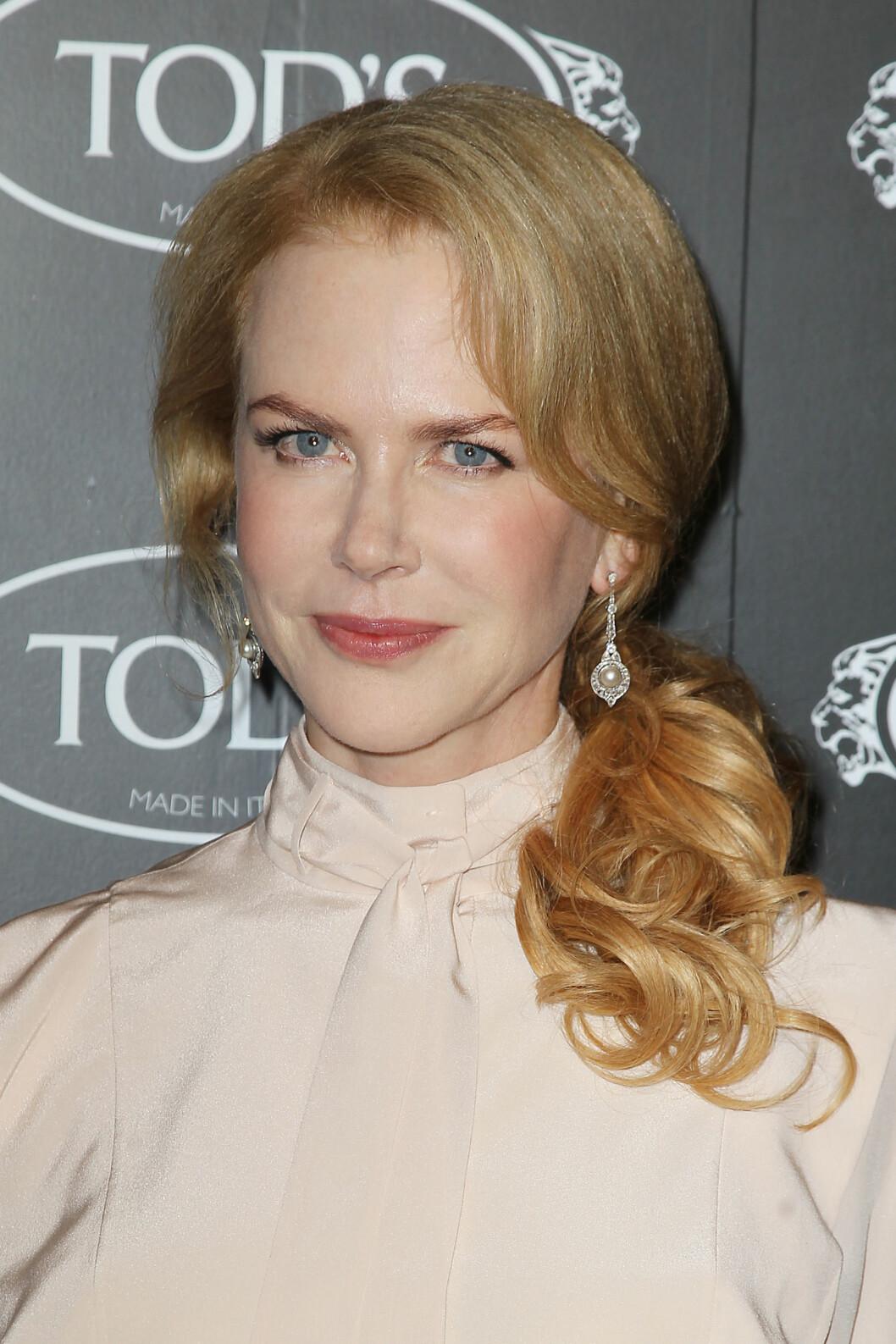 Nicole Kidman i år. Ifølge superstjernen har hun ikke gjort noe med utseendet, annet enn å ta vare på helsa, bruke solfaktor og ikke røyke. Foto: Amanda Schwab/Startraksphoto.com