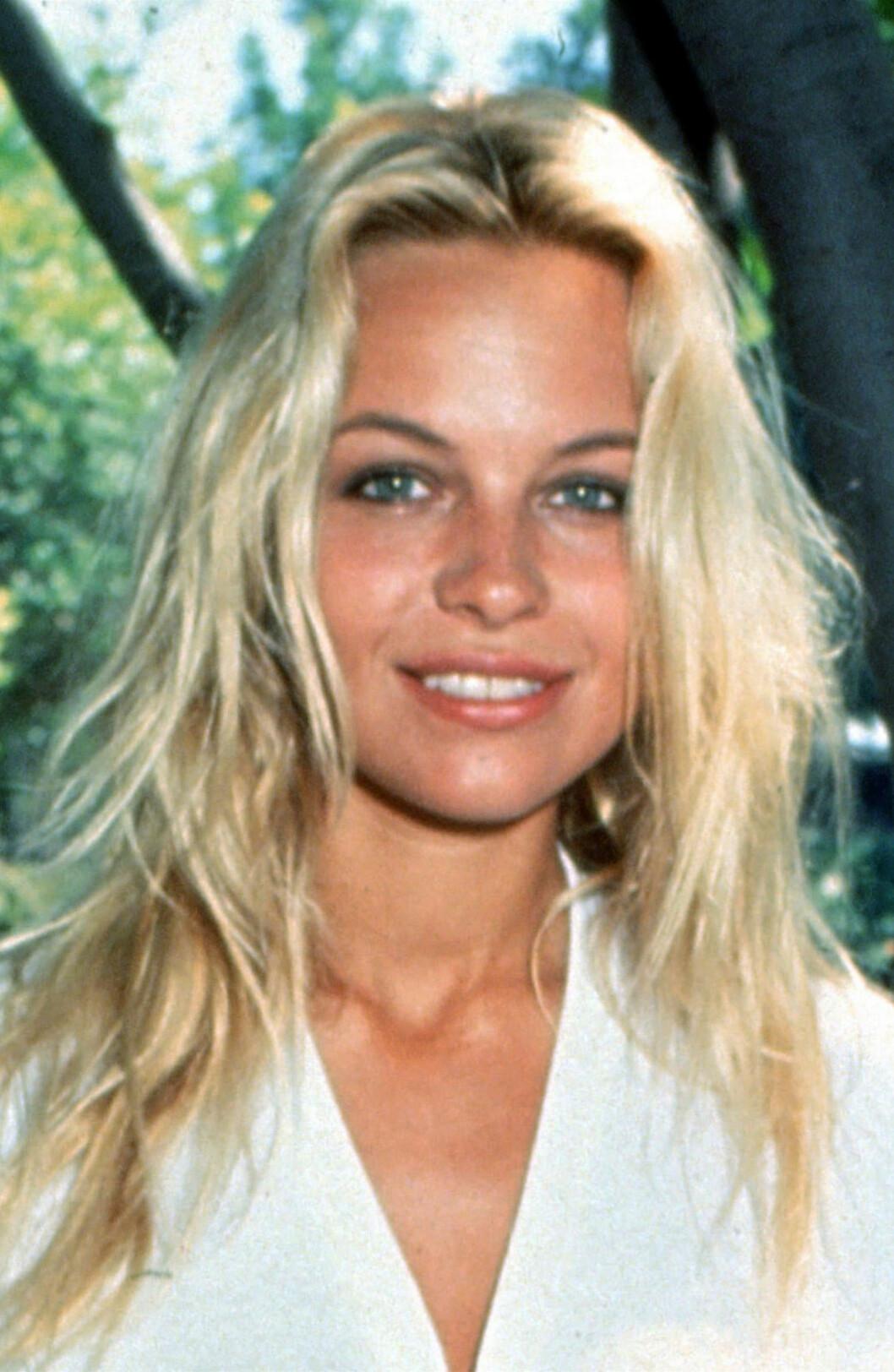 Pamela Anderson i 1993.  Foto: REX/Randy Bauer/All Over Press