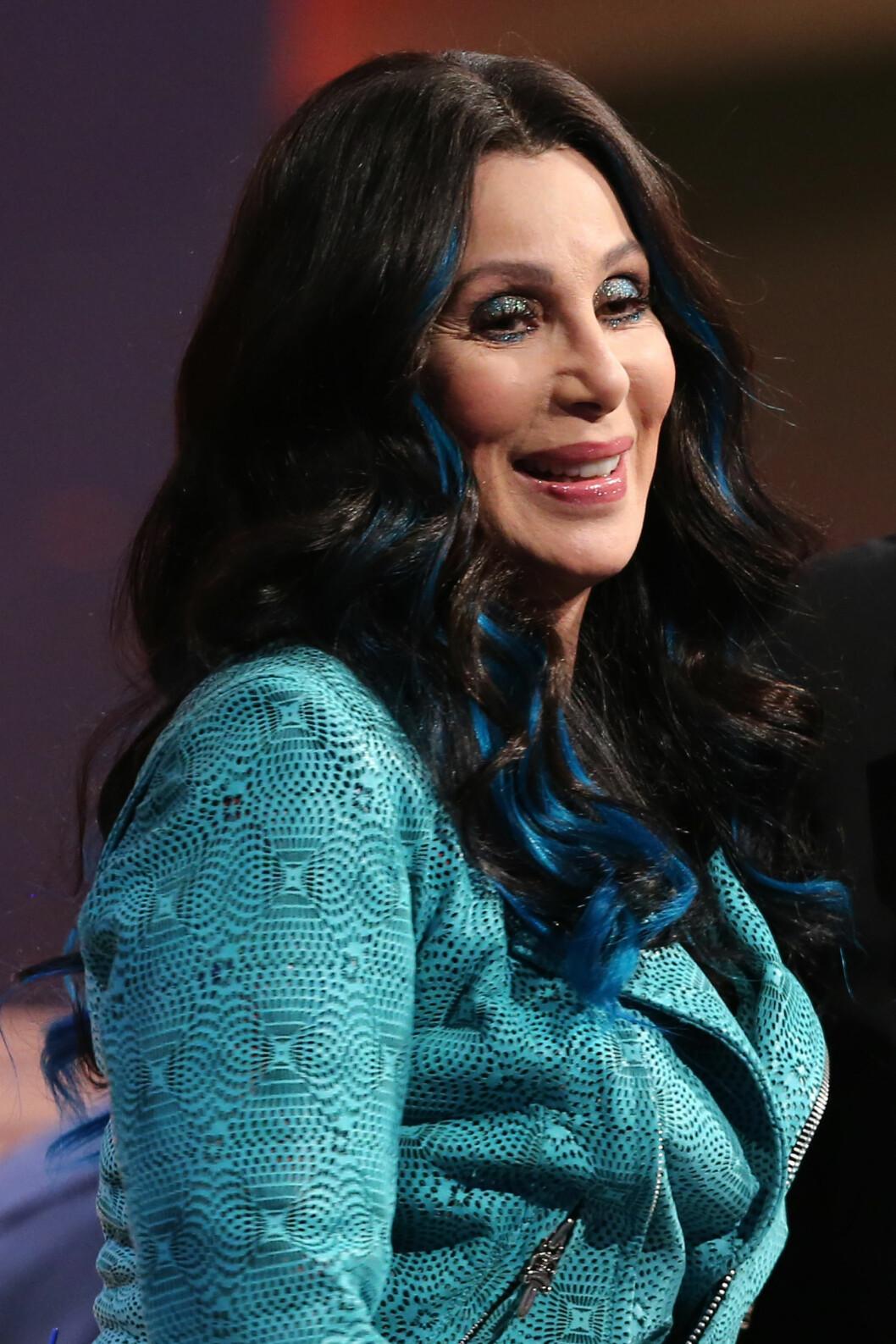 Cher i 2013. Sangdronningen har også vært åpen om inngrepene sine. Foto: action press/All Over Press