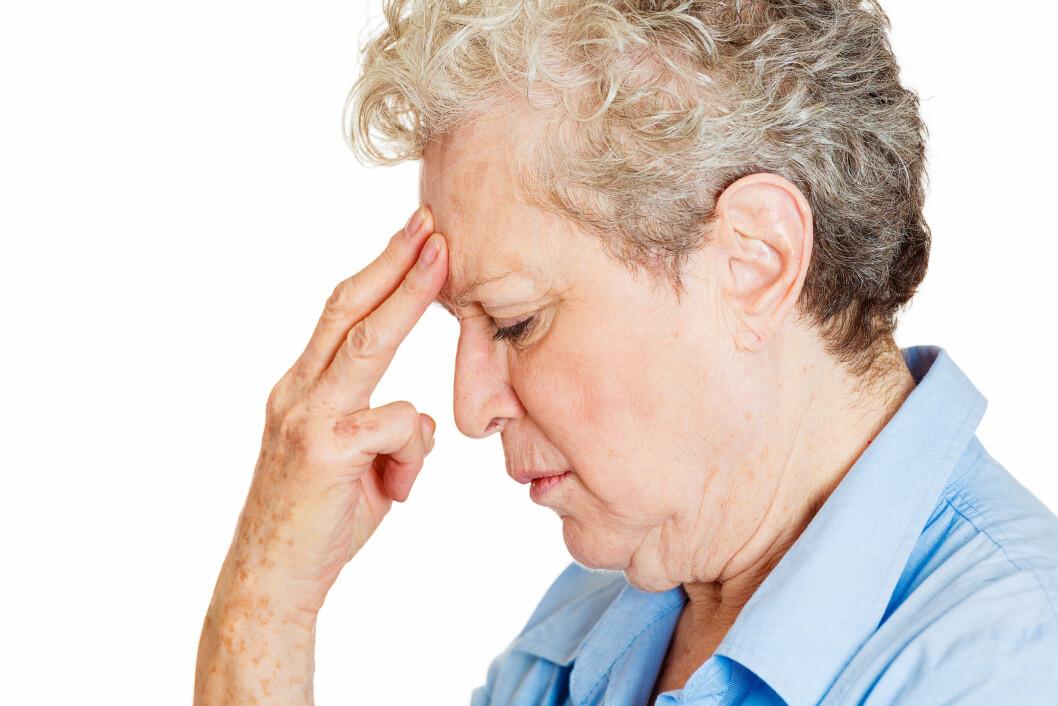 ALZHEIMER: Herpes viruset kan øke risikoen for å utvikle Alzheimers, da eldre mennesker har svekket immunforsvar, noe som gir viruset mulighet til å spre seg til hjernen og starte utviklingen av sykdommen.  Foto: pathdoc - Fotolia