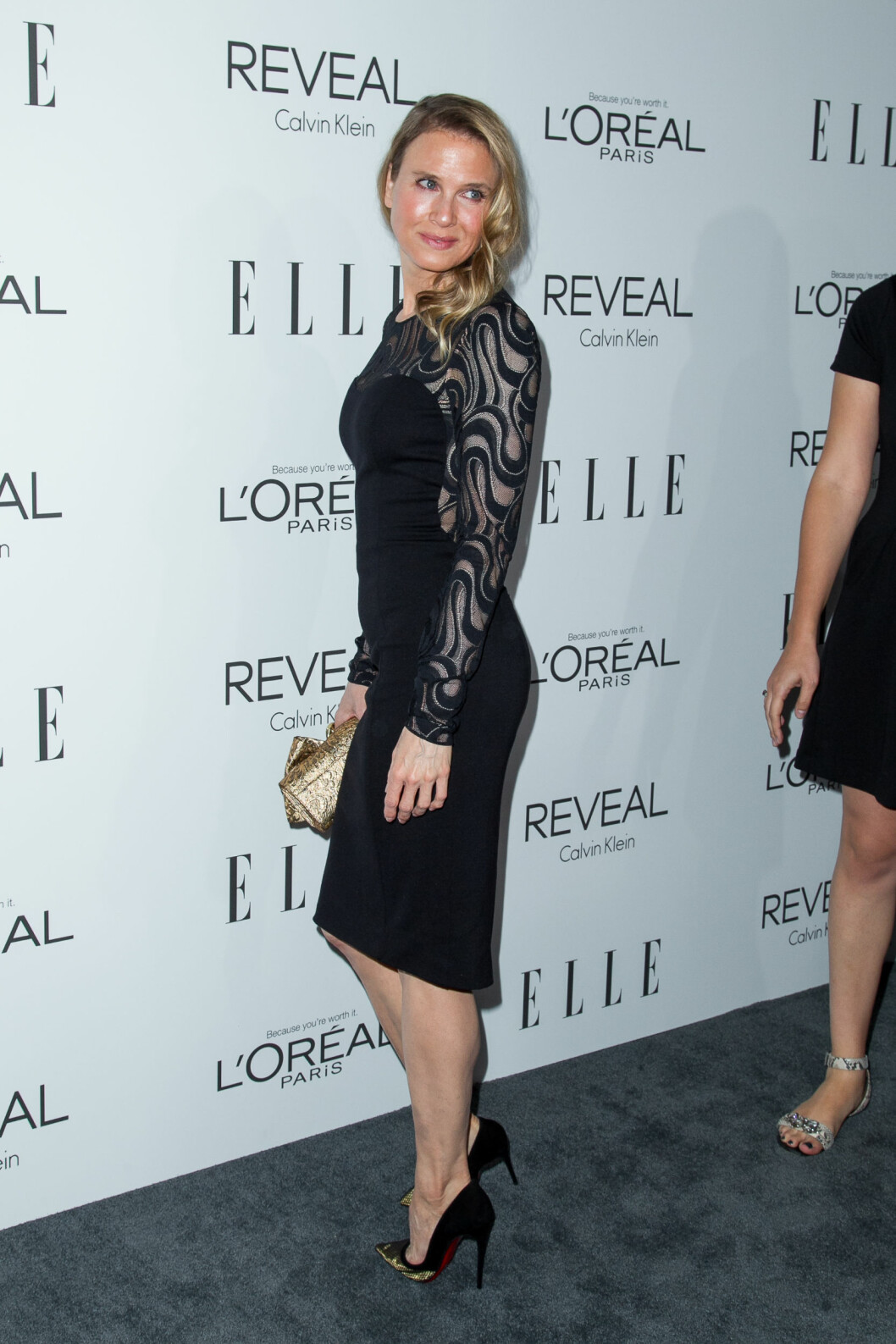 Renee Zellweger and recording artist Doyle Bramhall II attend ELLE's 21st annual Women in Hollywood event at Four Seasons Hotel Los Angeles on October 20, 2014 in Beverly Hills, California.  Pictured: Renee Zellweger Ref: SPL863012  201014   Picture by: Emmerson / Splash News  Splash News and Pictures Los Angeles:	310-821-2666 New York:	212-619-2666 London:	870-934-2666 photodesk@splashnews.com  Foto: Emmerson / Splash News/ All Over Press