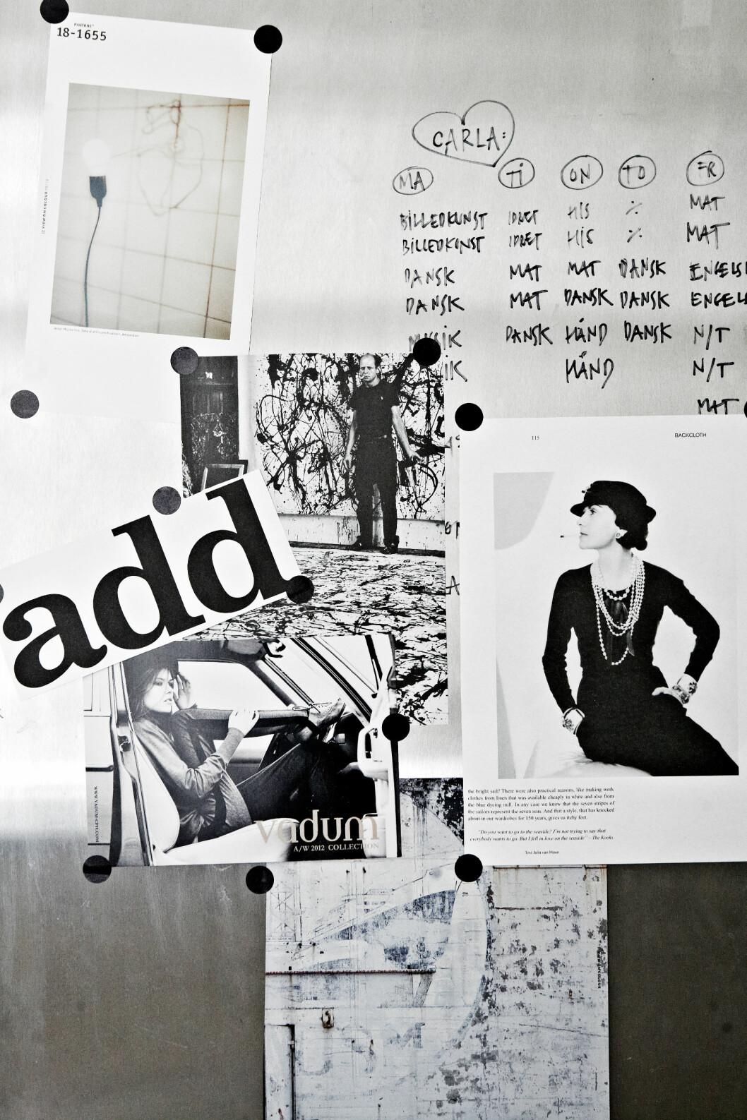 TIPS: Ikke alle bildene må rammes inn! Grupper de små og lag moodboard. Foto: Birgitta Wolfgang Drejer