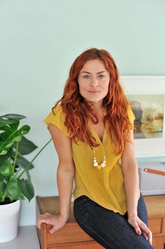 INTERIØREKSPERTEN: Signe Schineller er interiørstylist og har sin egen blogg Resignert.no. På nyåret er hun å se på et nytt interørkonsept på tv. Foto: Anniken Zahl Furunes