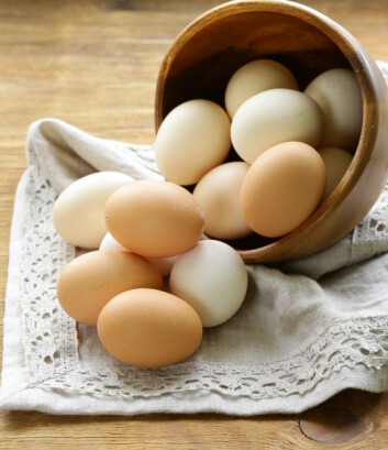 KOLESTEROLMYTE: Du får ikke høyt kolesterol av å spise mat med mye kolesterol, slik man trodde før i tiden.  Foto: Fotolia