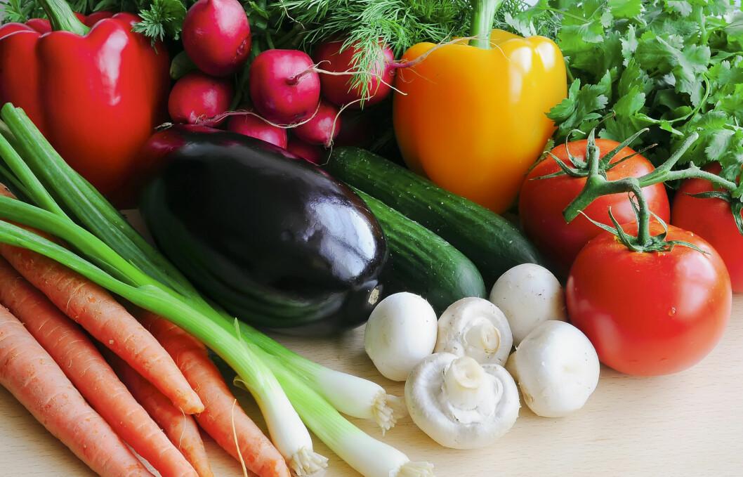 GÅ FOR GRØNNSAKER: Ikke bare er grønnsaker rimelig, men det gir deg mange flere mulgheter på kjøkkenet, smaker kjempedeilig og er veldig bra for deg. Foto: Fotolia