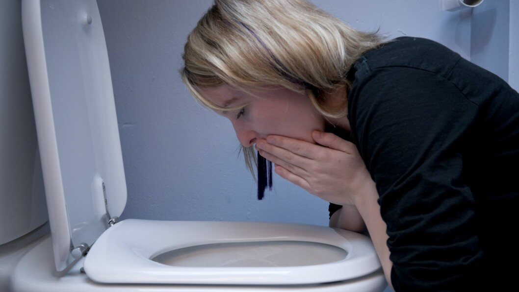 <strong>GODE RÅD ER DYRE:</strong> Det er få ting som er verre enn oppkast og diaré. Det er i hvert fall slik det føles når du først henger over toalettskåla. Og i slike tilfeller tas alle råd i mot med åpne armer, gode som dårlige. Men er det egentlig noe som hjelper? Foto: REX/Photofusion/All Over Press