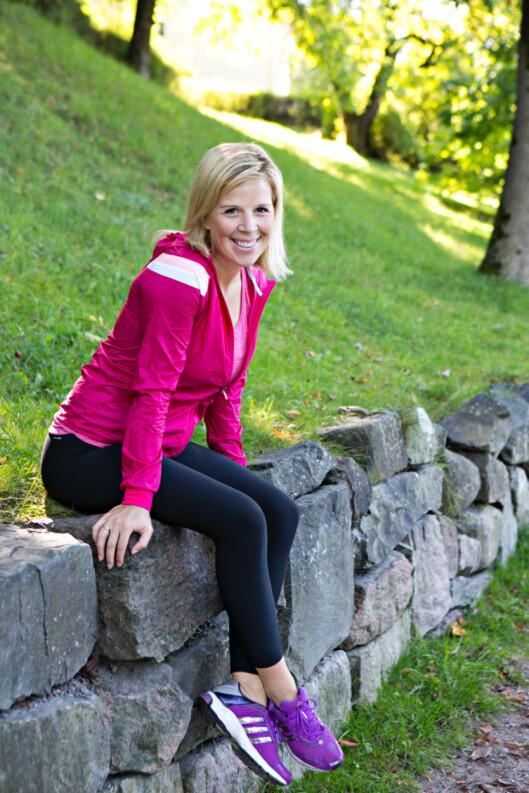EKSPERTEN: Anne Marte Sneve er KKs nye treningsekspert.  Foto: Charlotte Wiig